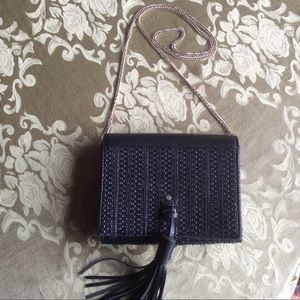 The Limited Small Black Cross Body Purse
